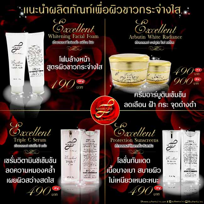 Whitening Products set