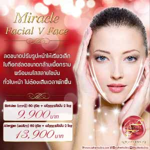 Miracle Facial V Face Square 300